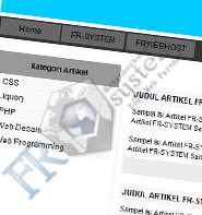 Membuat Kategori Artikel dan Detail Artikel Menggunakan PHP dan MYSQL